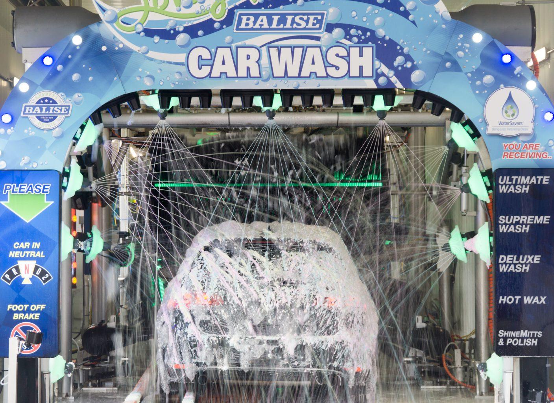 Balise Car Wash.