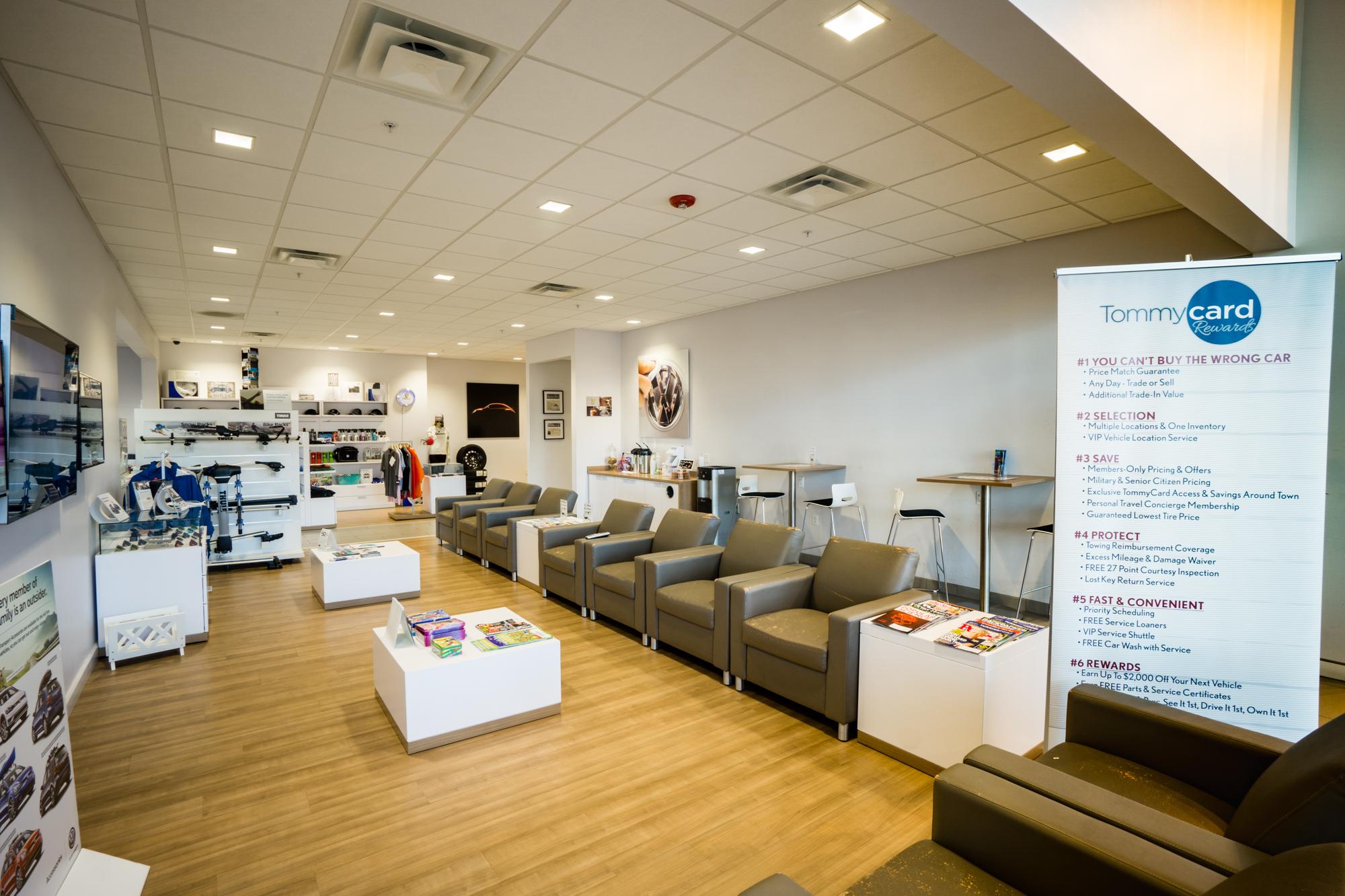 Northampton VW - Customer Lounge.