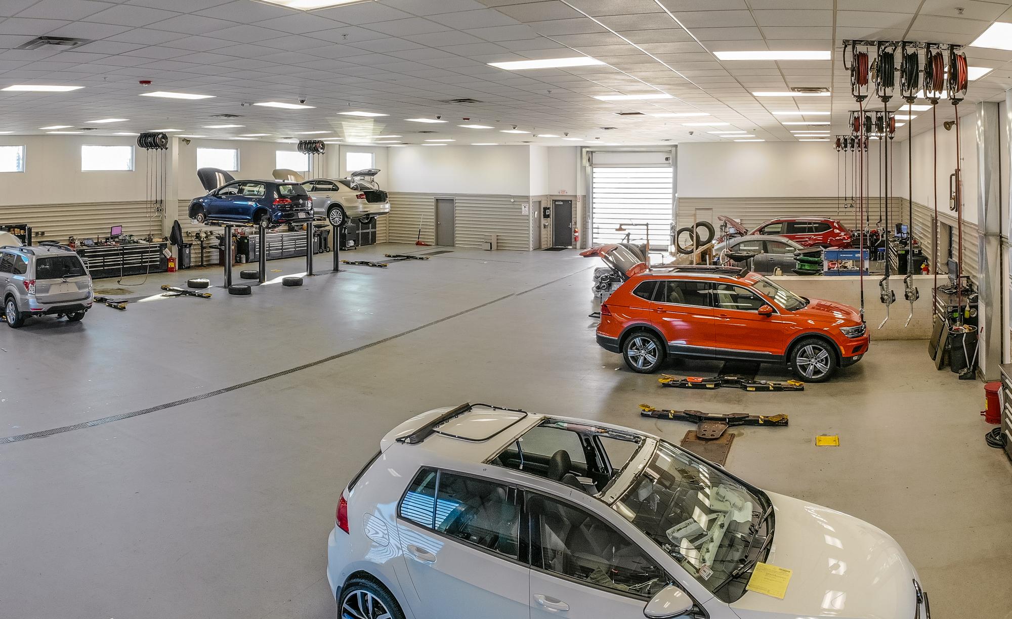 Northampton VW - Service.