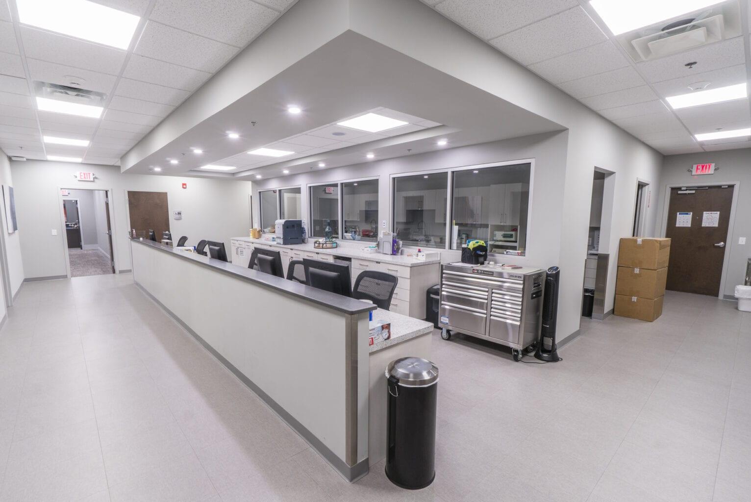Berkshire Facial Surgery - Work stations
